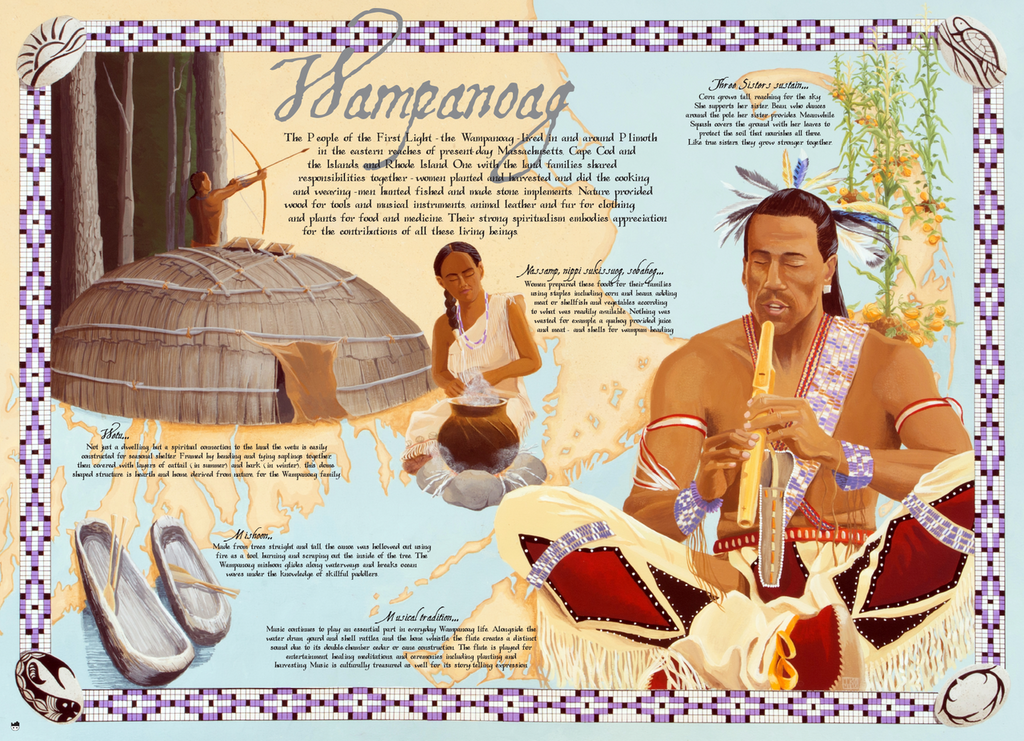 A snapshot of Wampanoag Nation whose arts and traditions continue today.