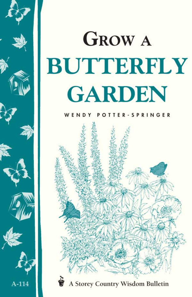 grow a butterfly garden by wendy potter springer - Butterfly Garden Book