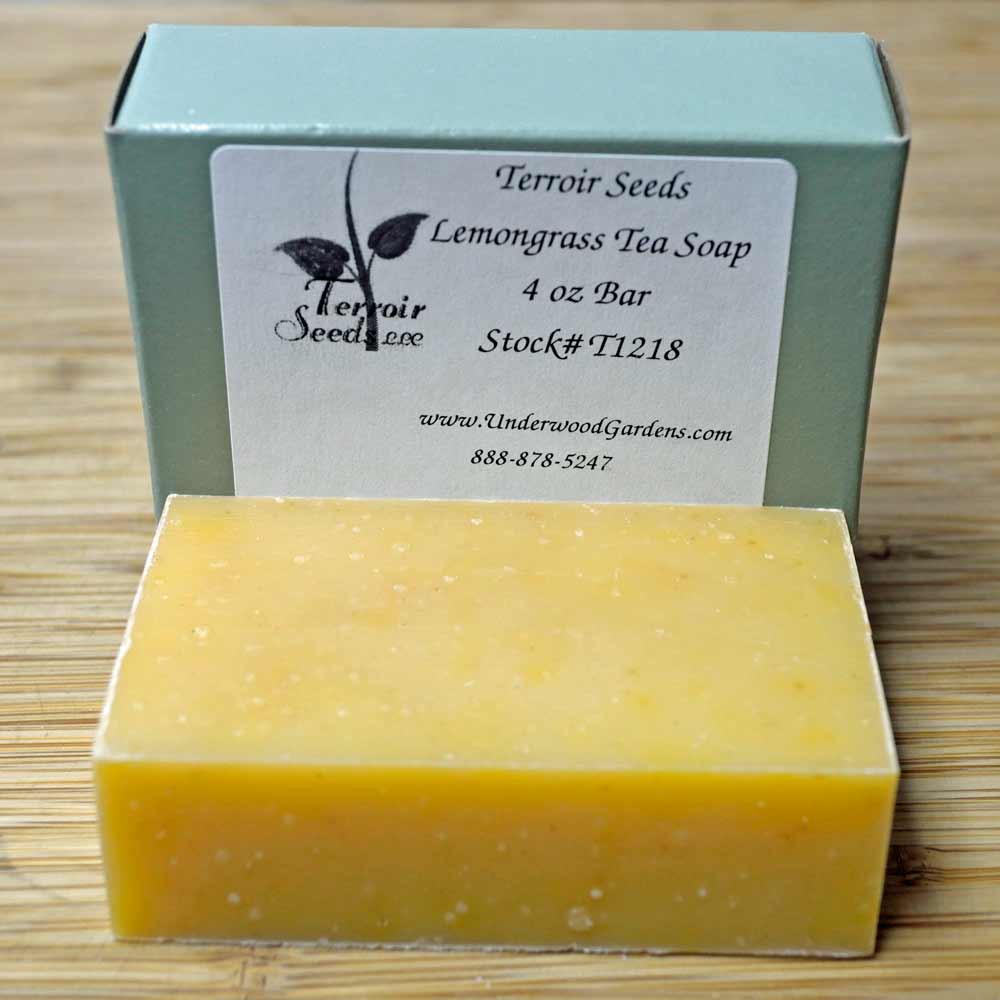 Certified Organic Handmade Lemongrass Tea Soap