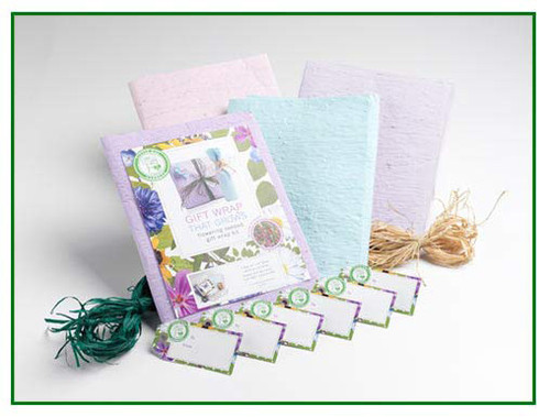 Gift Wrap that Grows - Pre-Seeded Gift Wrap