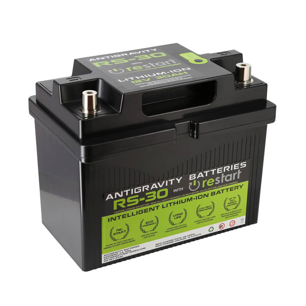 Lithium Ion Car Battery >> Antigravity Batteries Rs 30 Lightweight Performance Lithium Ion