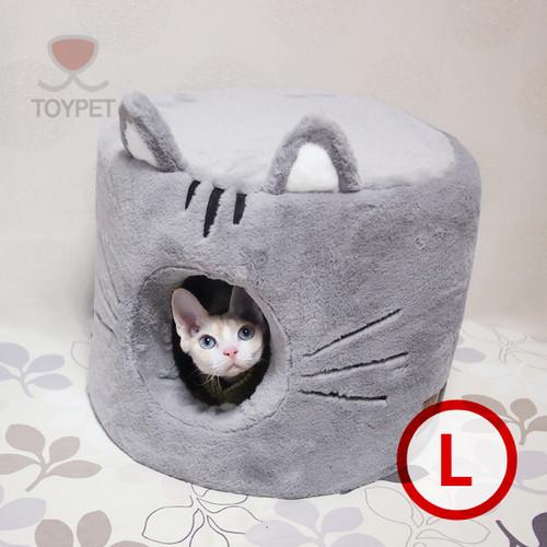 Cat house (grey)