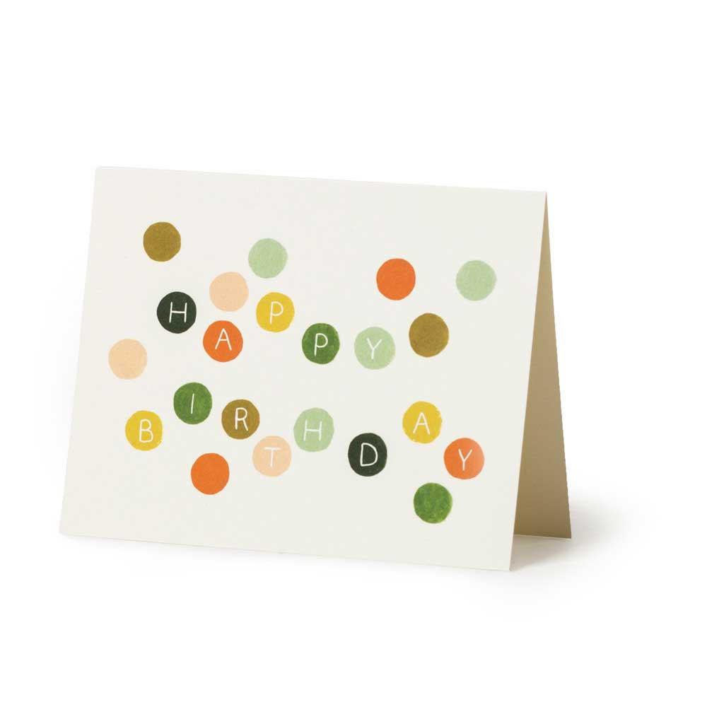 Dots Birthday Card