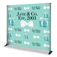 Jane & Co. Step and Repeat in Tiffany Blue. Let us know if you would like this template by emailing us at sales@stepandrepeatdepot.com