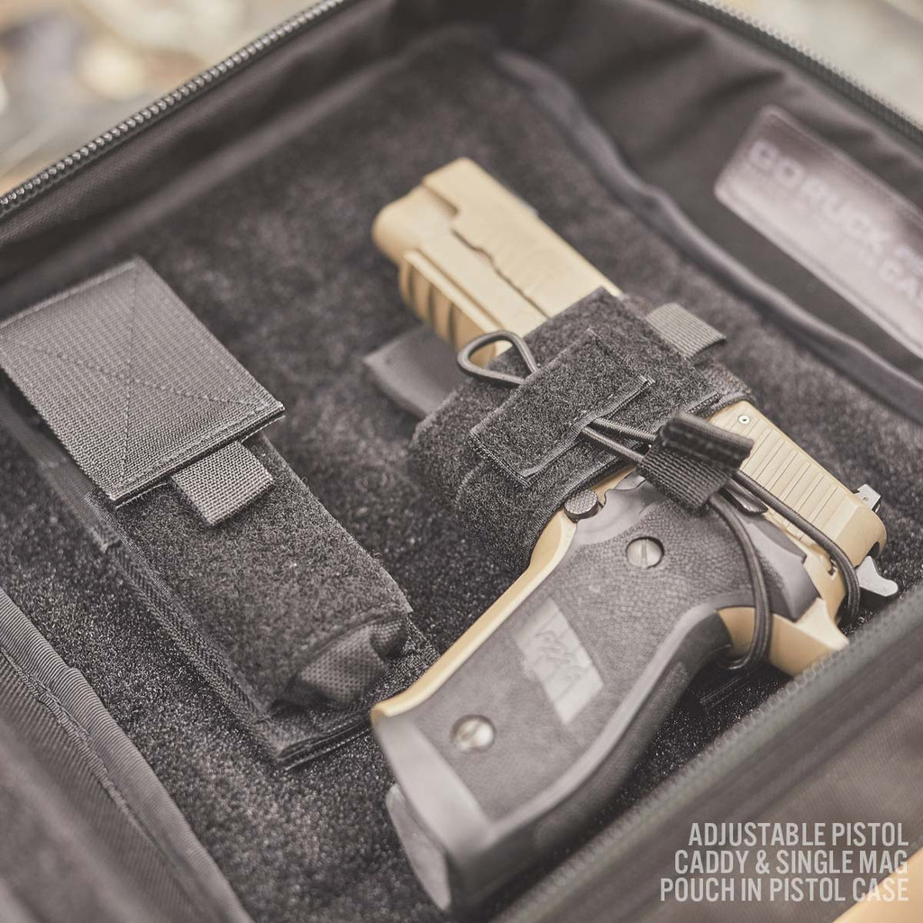 Adjustable Pistol Caddy