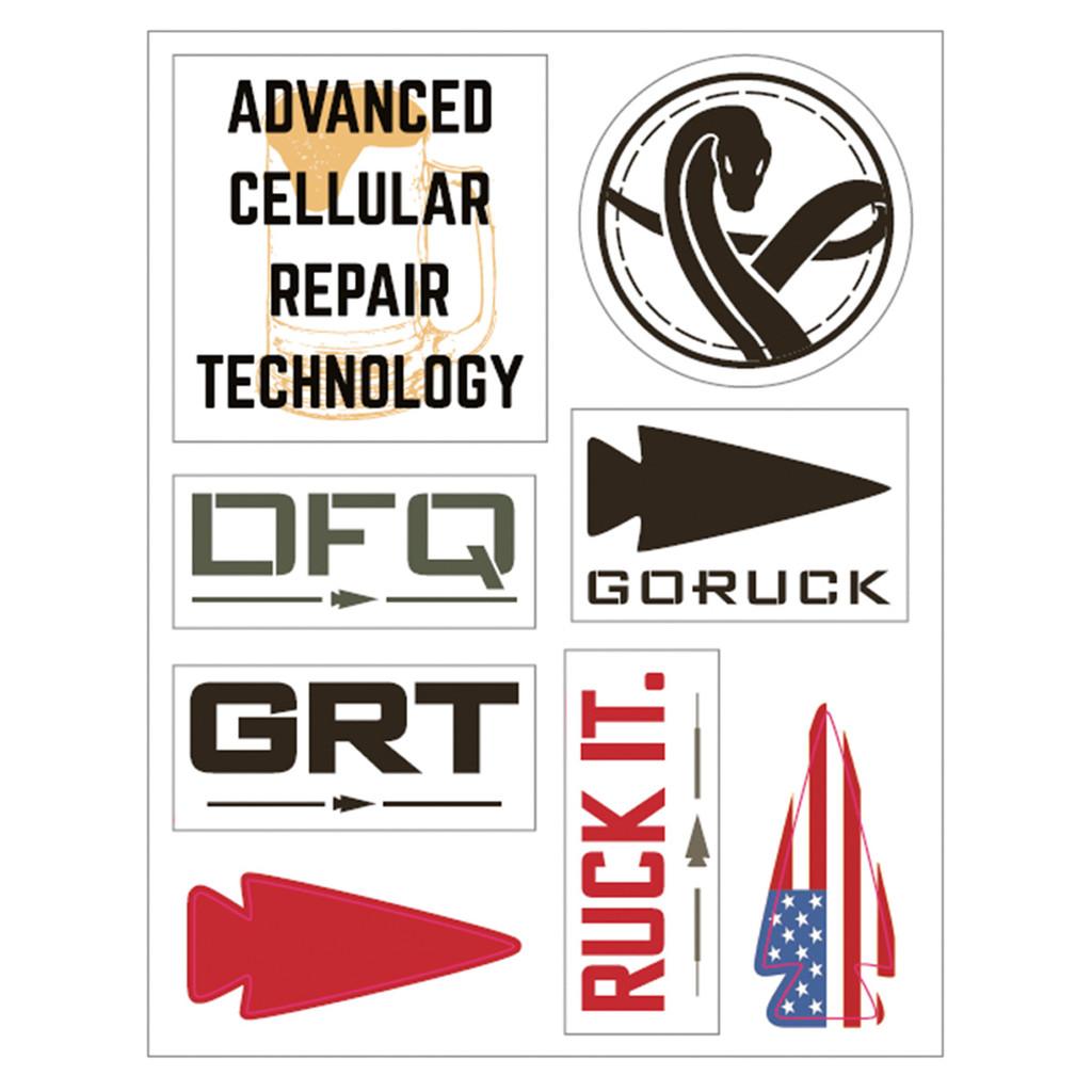 Sticker Sheets - GORUCK