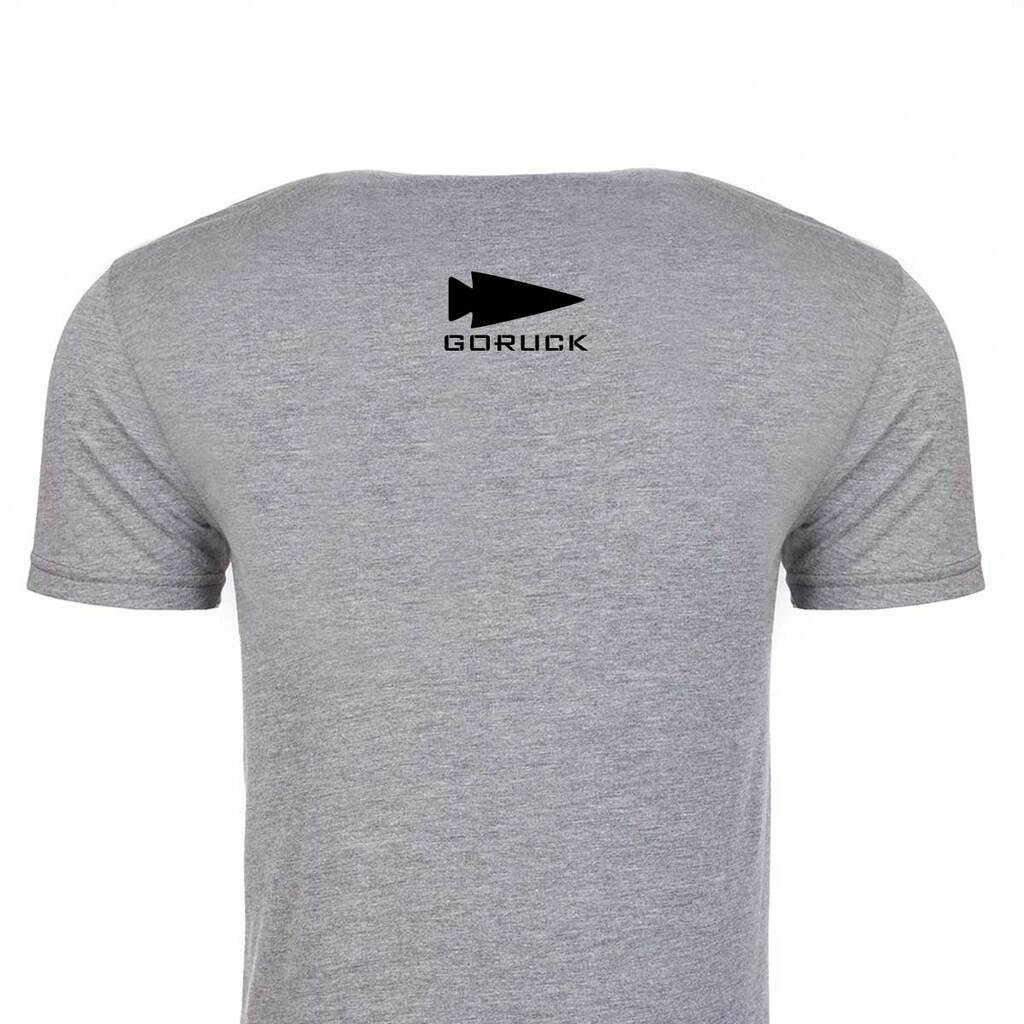 T-shirt - GORUCK USA (Black & Grey)
