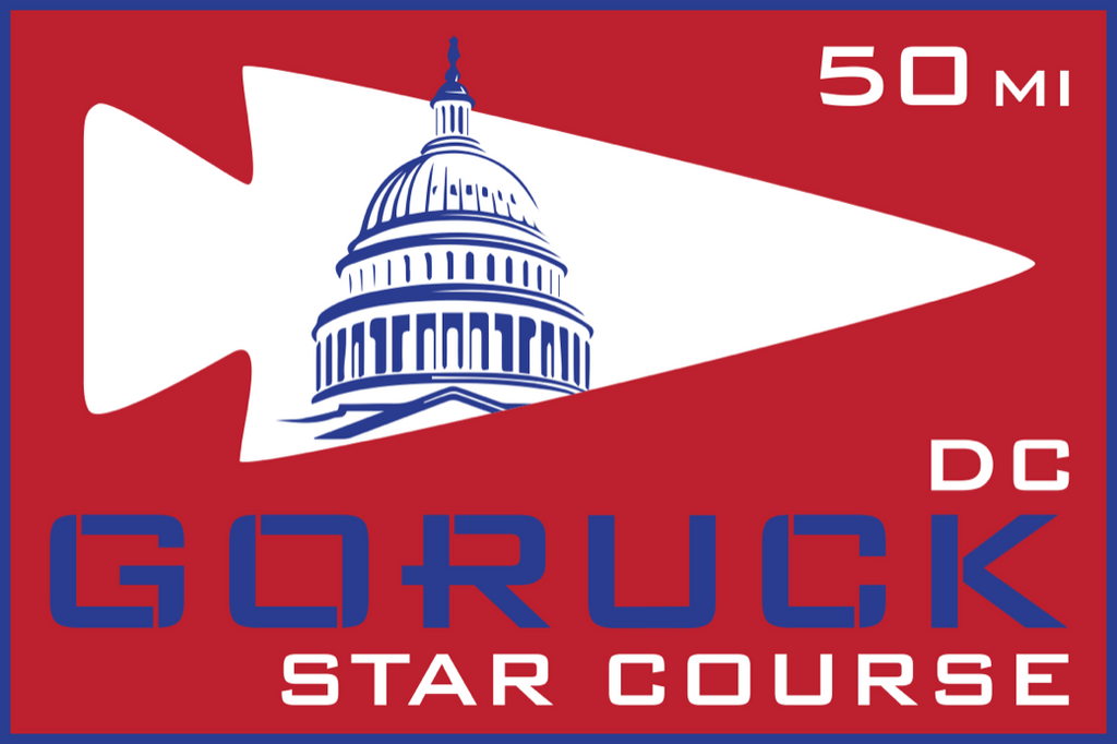 Patch for Star Course - 50 Miler: Washington, DC 05/18/2018 21:00