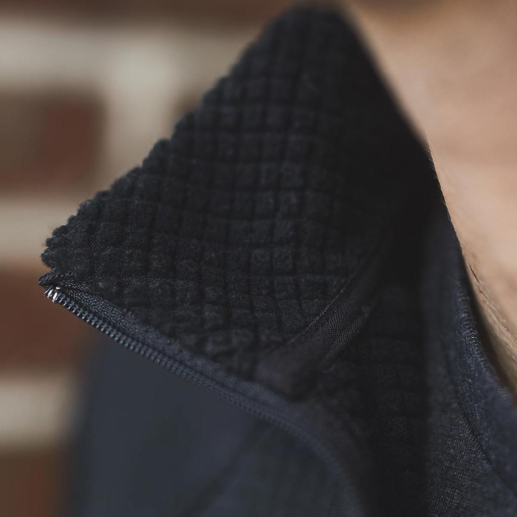Grid Fleece Half Zip