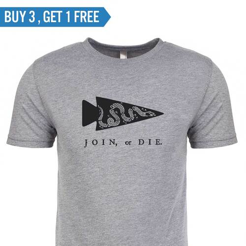 T-shirt - Join or Die