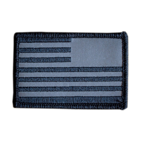 Patch - Reflective Reverse Flag