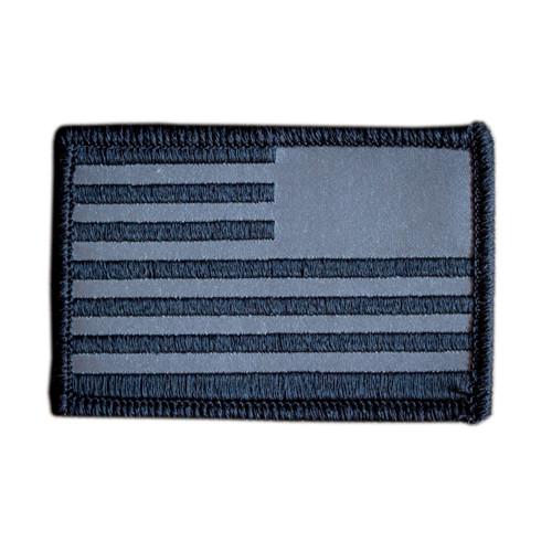 Patch - Reflective Reverse Flag