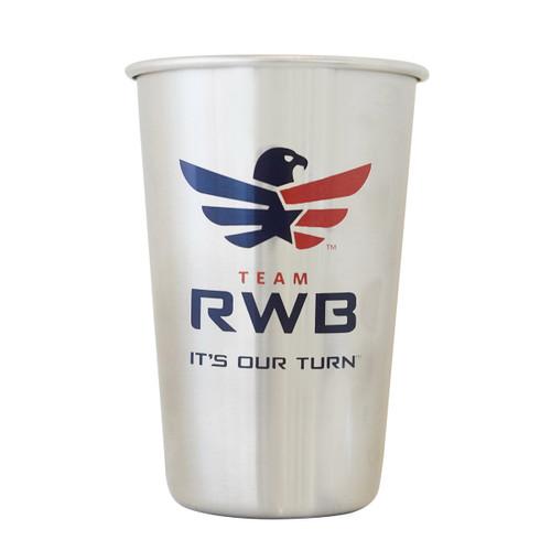 Stainless Steel Pint - Team RWB
