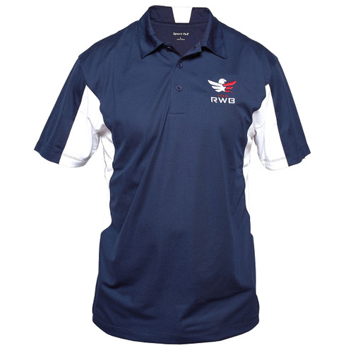 Embroidered Sport Polo - Team RWB