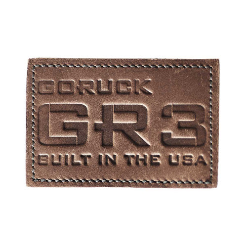 Patch - Leather GORUCK GR3