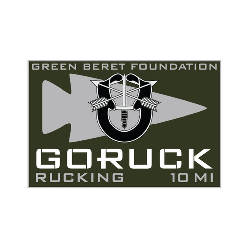 Patch - Rucking for GBF Fundraiser