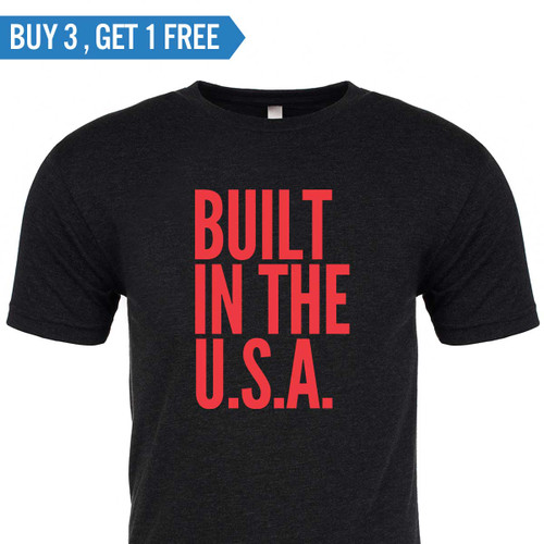 T-shirt - Built in the U.S.A.