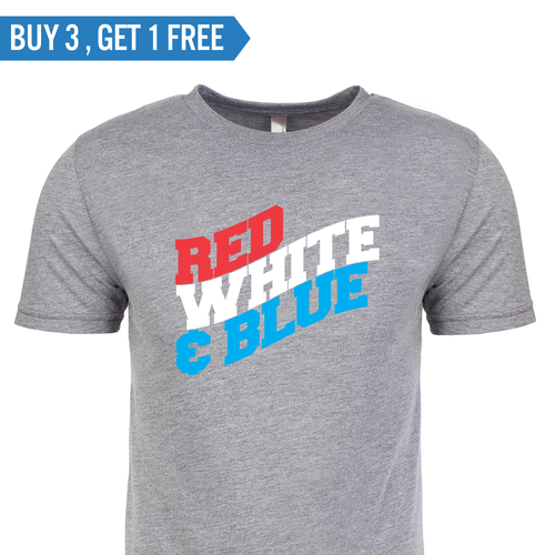 T-shirt - Red, White, & Blue