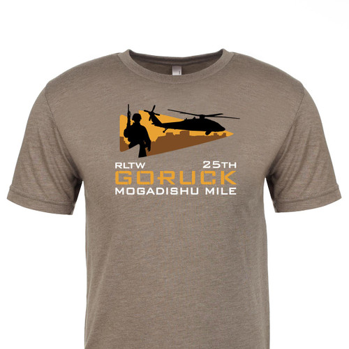 T-shirt (PRE-SALE) - Mogadishu Mile 25th Anniversary