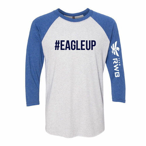 Baseball 3/4 Sleeve Shirt - Eagle Up