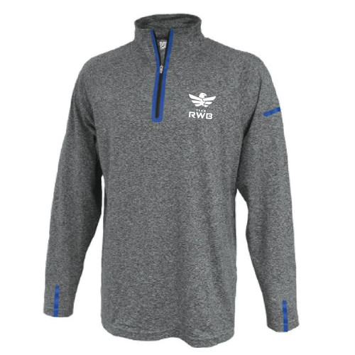 Half Zip Pullover - Team RWB (Grey)
