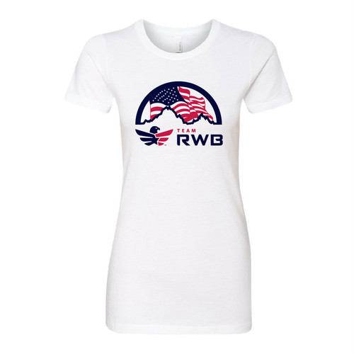 Patriotic T-shirt - Team RWB  (Women)