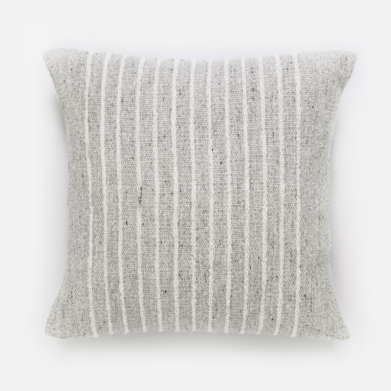 Ardo Thin Striped Wool Pillow
