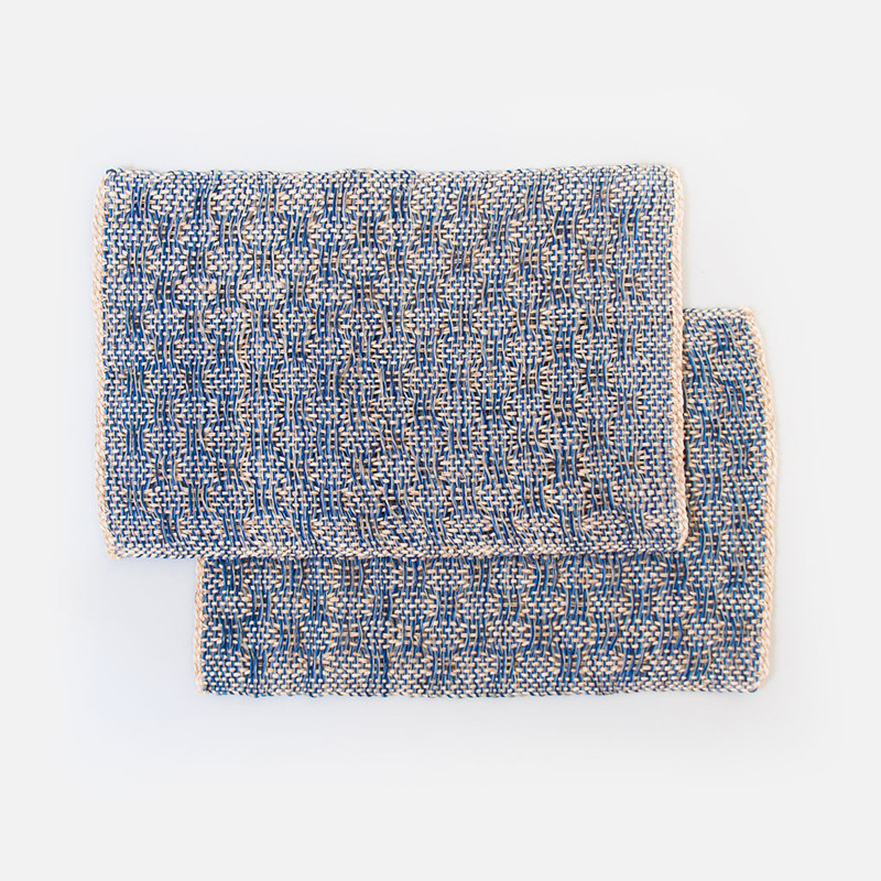 Azure Woven Placemats