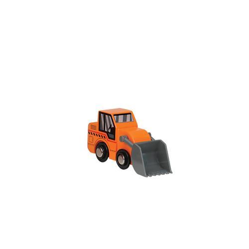 Orange Wooden Digger