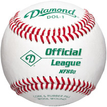 Diamond DOL-1 Official League Baseball NFHS (1 Dozen)