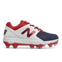 NEW BALANCE NAVY/RED/WHITE VELO MOLDED CLEAT