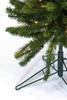 7.5' Pencil Darwin Pine Prelit Artificial Christmas Tree