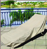 "Treasure Garden 30"" Small Chaise Lounge w/Elastic Protective Furniture Cover"