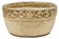 Swan Creek Vintage Ivory Pot Warm Cinnamon Buns