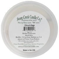 Swan Creek Pottery Refill Kit Citrus & Sage