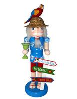 "Santa's Workshop Welcome to Paradise Nutcracker 14"""
