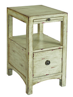 "Coast To Coast 1 Drawer 14"" Accent Table Sand"