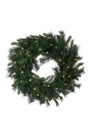 "30"" Princess Pine Prelit Wreath"
