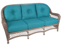 Erwin and Sons St. John Outdoor Sofa in Driftwood w/ Cushions (Ships in 4-6 weeks)
