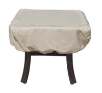 "Treasure Garden 27"" Square or Round Occasional Table w/Elastic Protective Furniture Cover"