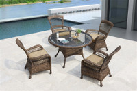 Erwin Bel Air Outdoor 5 piece Dining Set w/Cushions