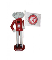 "12"" Alabama Mascot and Flag"