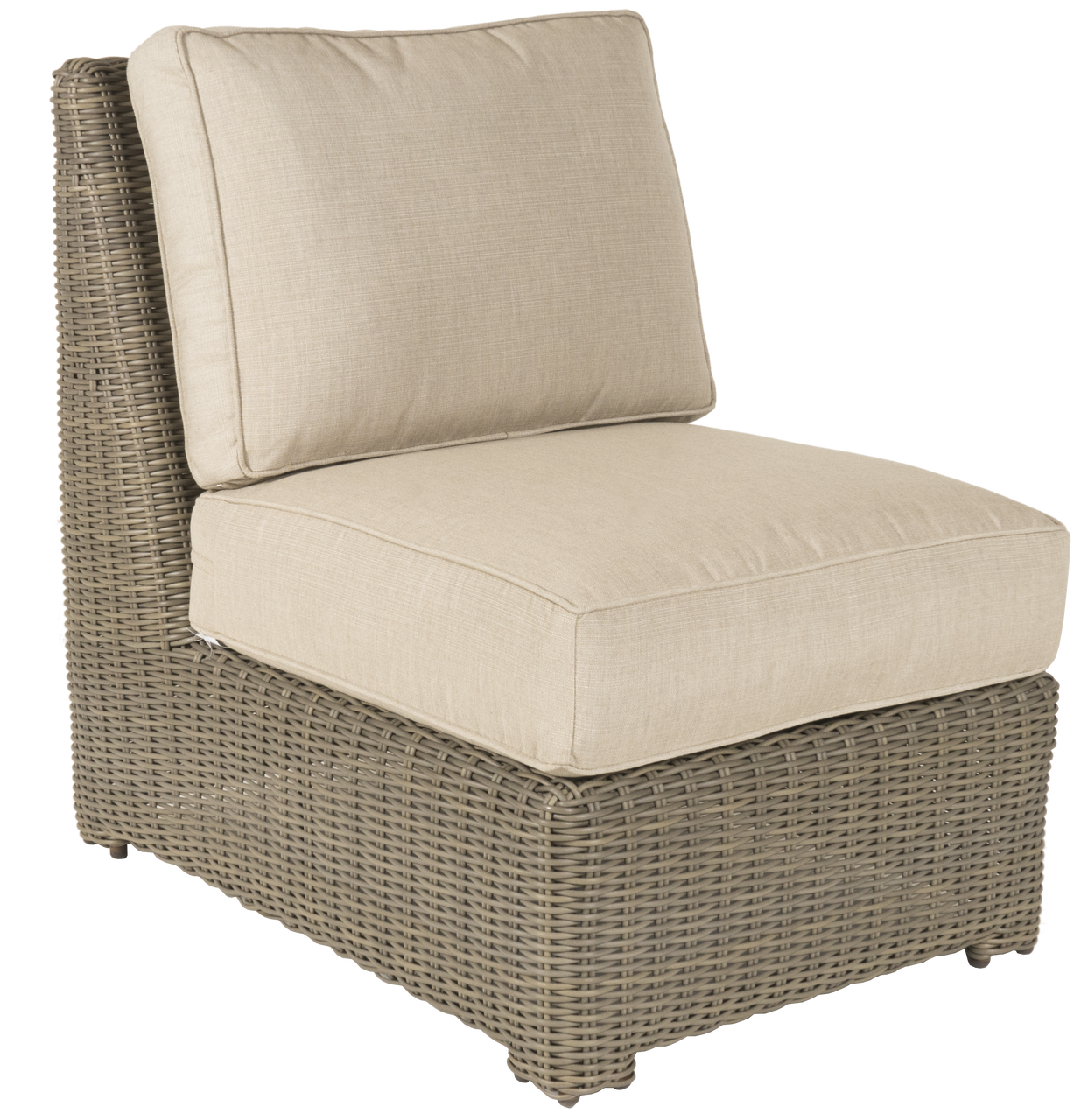 Erwin Napa Outdoor Armless Chair W/Cushion (Ships In 4 6 Weeks)