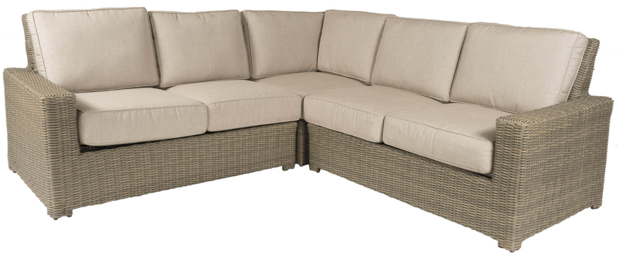 Erwin Napa Outdoor Sectional Sofa W/Cushions (Ships In 4 6 Weeks)
