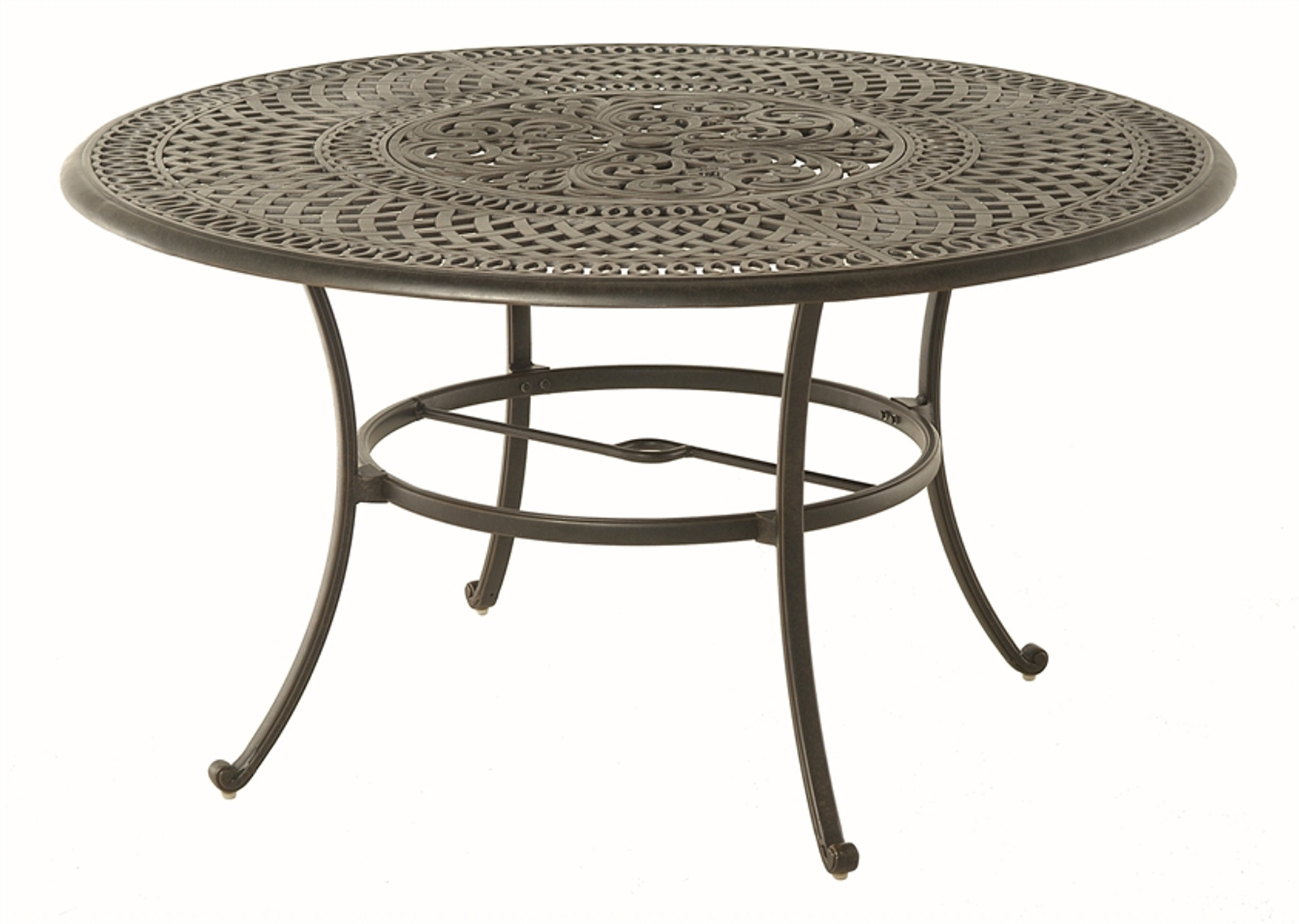 Lazy Susan For Table Simple Hanamint Bella Outdoor 60 Round Inlaid Lazy Susan Table