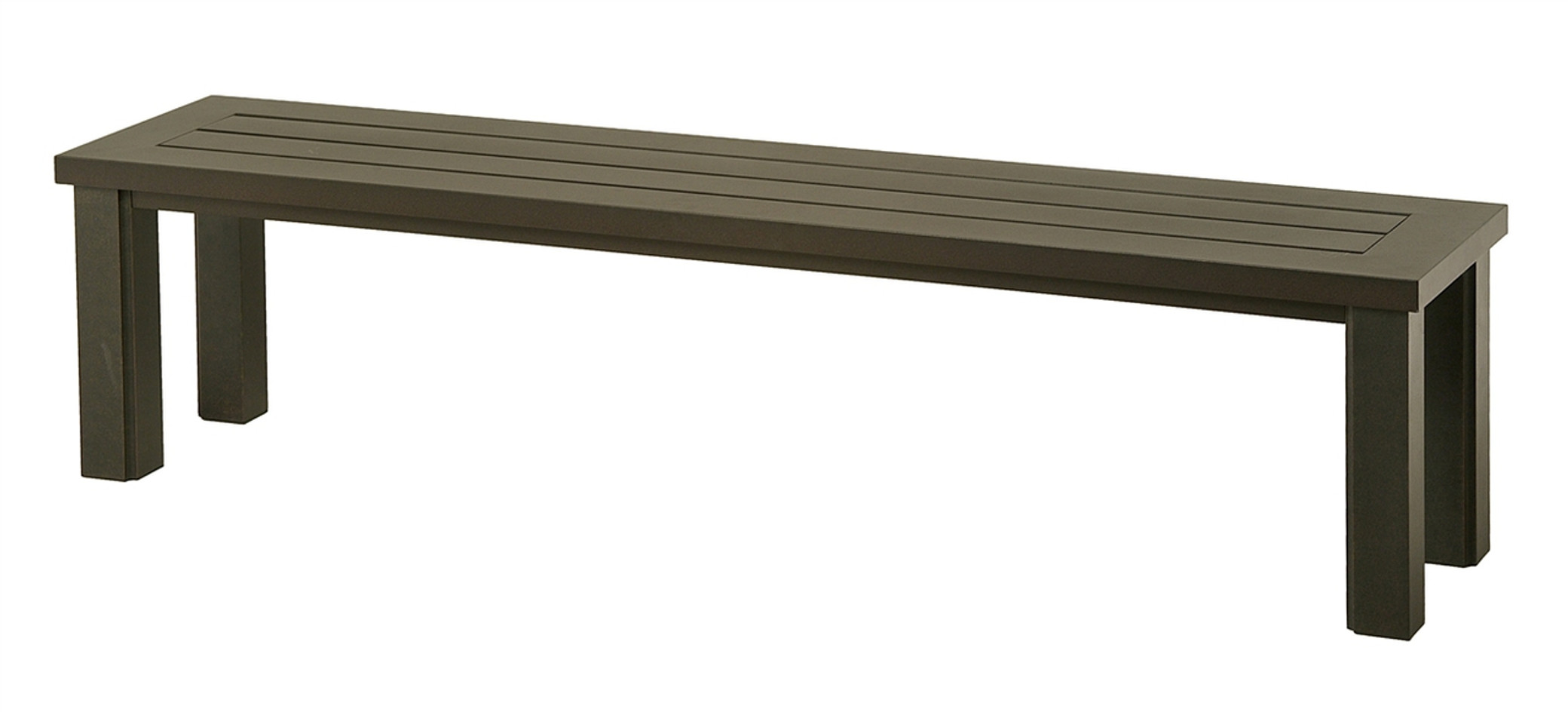 sight products modern mid at vintage century slat bench new