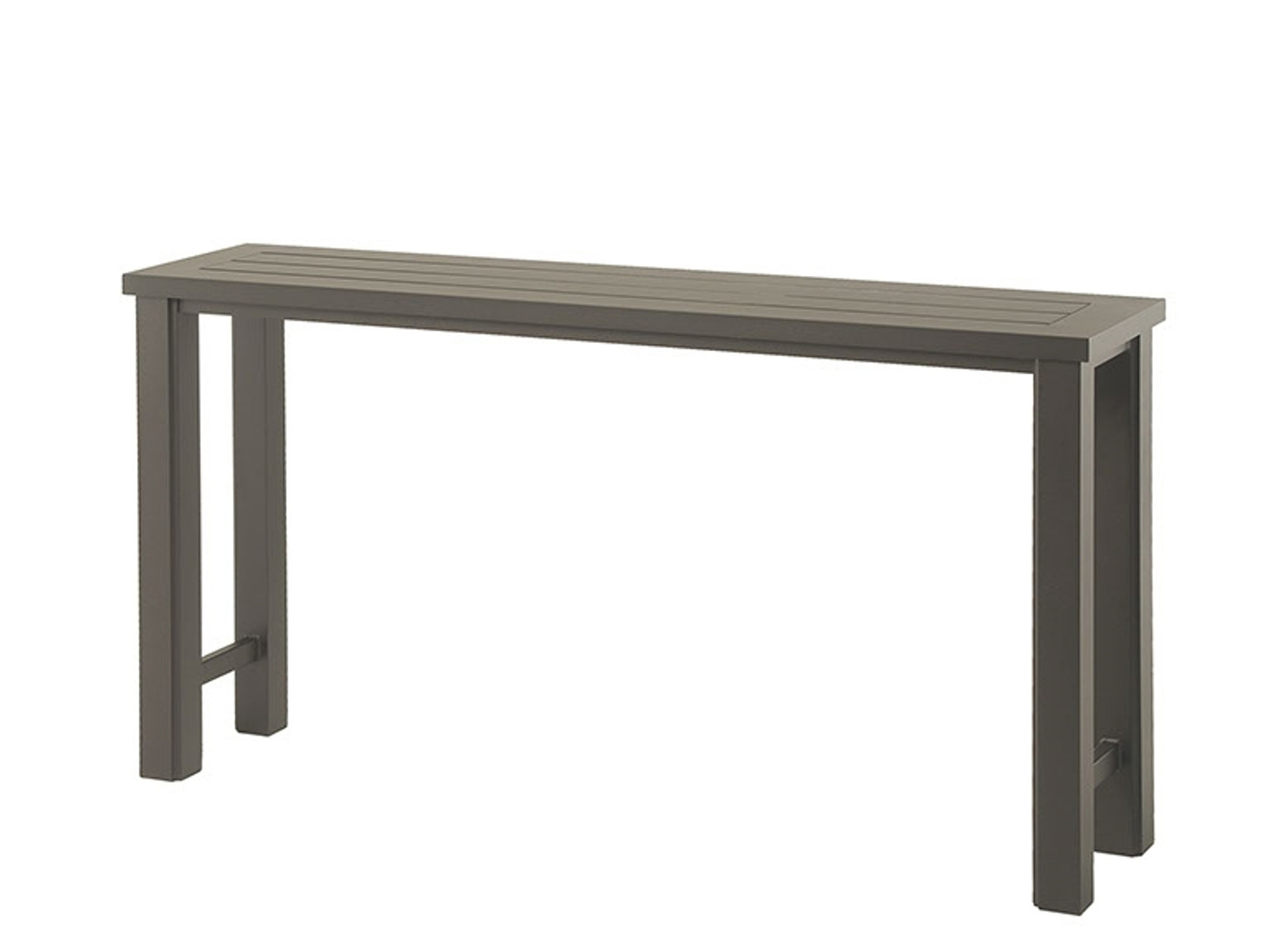 hanamint sherwood outdoor 16 x 70 counter height console table. Black Bedroom Furniture Sets. Home Design Ideas