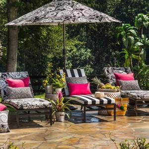 Basic Chaise Lounge Cushions