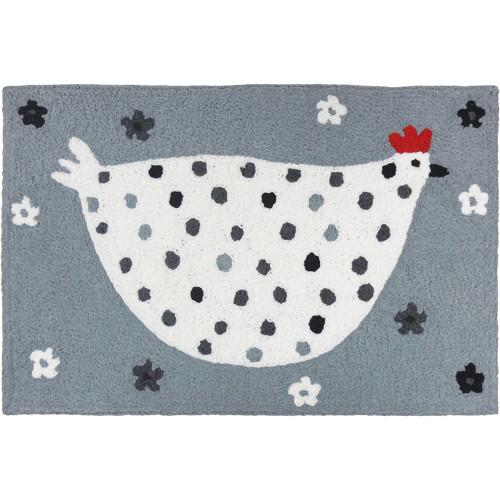 Jellybean Rug Cool Grey Chick