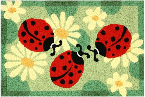Jellybean Rug Ladybugs